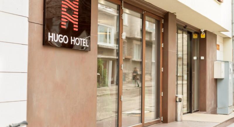 Хотел Хюго - фасада